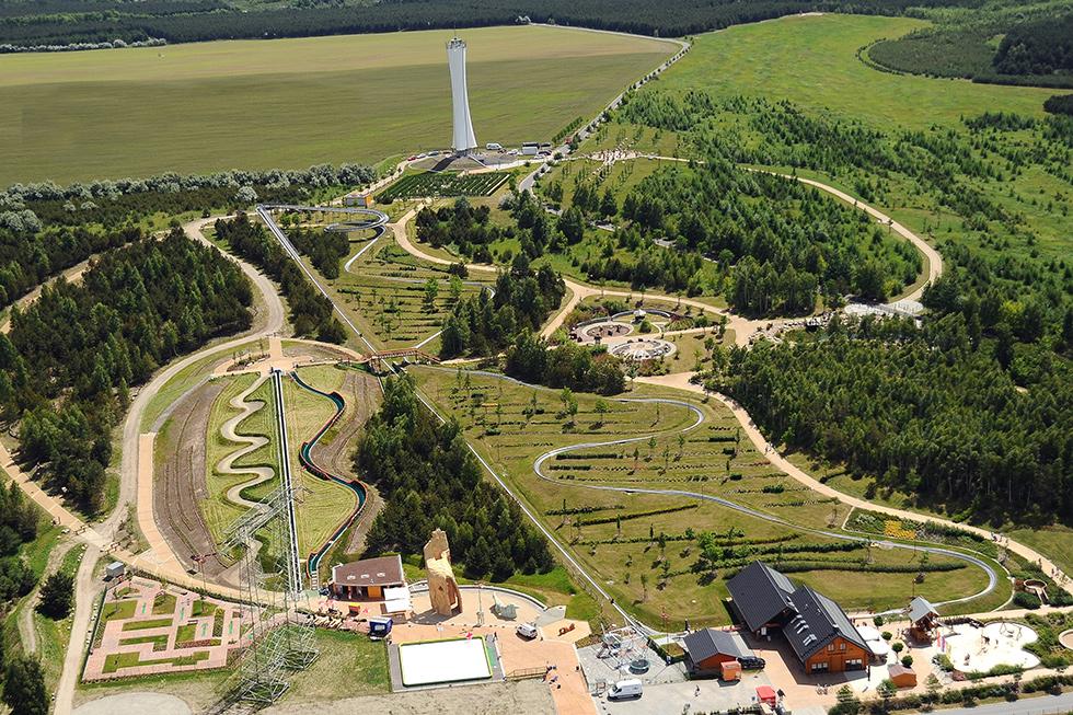 Übersicht Erlebnispark Teichland, Foto: Archiv Erlebnispark-Teichland